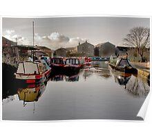 Skipton Canal Basin Poster
