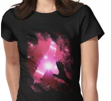 Breast Cancer Awareness Womens Fitted T-Shirt