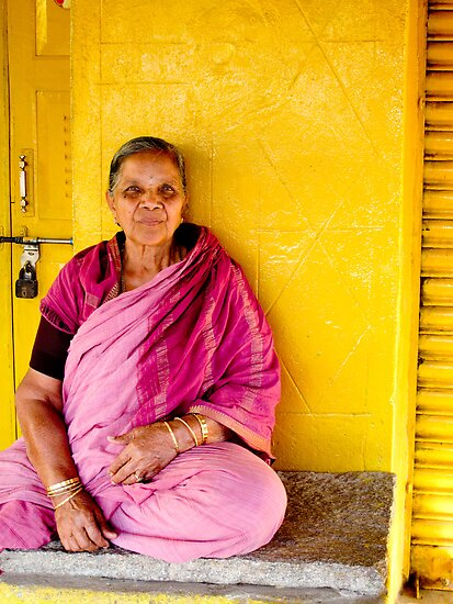 Yellow and Pink: Karnataka, India by Rachel  Devenish Ford
