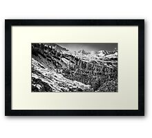 italian mountains... Framed Print