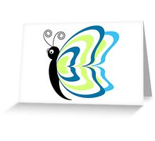 Butterfly Butter-fly away! Greeting Card