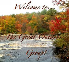 Temp Welcome banner for The Great Outdoors Group by linmarie