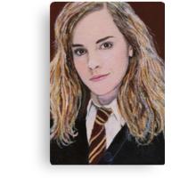 Miniature 'Hermione Granger' ACEO Card Canvas Print