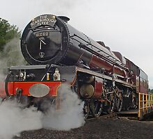 Princess Elizabeth at Scarborough Turntable by TREVOR34