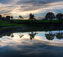 Reflections on the lake by Rob Hawkins