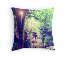 Looking for Birds 2 Throw Pillow