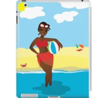 Retro Beach Cutie iPad Case/Skin