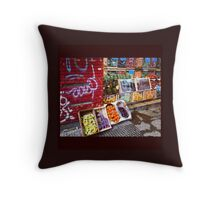 Streets of BsAs Throw Pillow