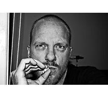 "Self Portrait ""smoking"" Photographic Print"