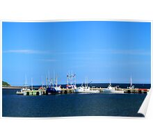 Harbour at Cheticamp, Nova Scotia Poster