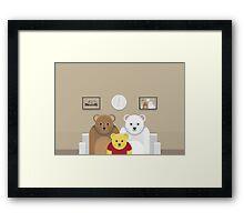 Pooh's Family ? Framed Print