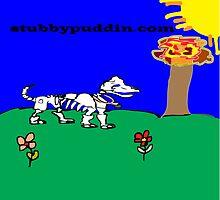 skeleton weeny dog by latrenda