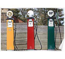 Petrol Pumps Poster