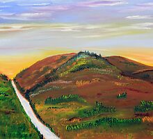 Sunrise in the Foothills by James Bryron Love