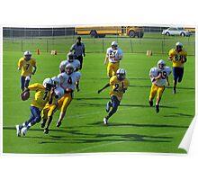 Jeff Davis yelllow jackets vs Wayne county yellow jackets Poster