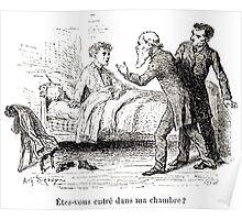 Achille Sirouy Mark Twain Les Aventures de Huck Huckleberry Finn illustration p188 Poster