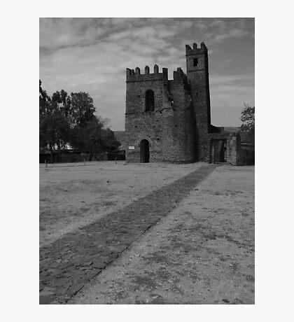 Archive of Fasilidas Photographic Print