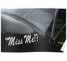 Miss Me!? Poster