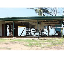 Water and Wind damage Cyclone Yasi - Tully Heads, North Queensland, Australia Photographic Print