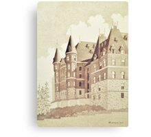 Stadium High School, Tacoma, Washington Canvas Print
