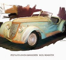 1937 Auto Union Wanderer by RGMcMahon