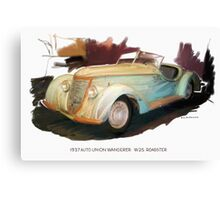 1937 Auto Union Wanderer Canvas Print