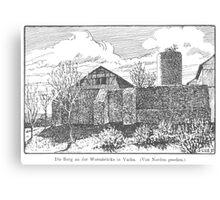 Georg Lilie Vacha Wendelstein Canvas Print