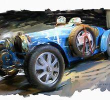 Bugatti Roadster by RGMcMahon