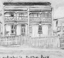 Dutton Park Heritage Building by gillsart