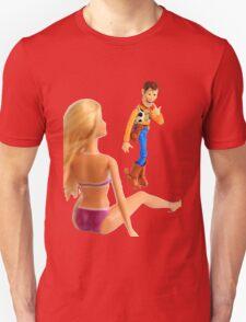 Woody sneaky peek Unisex T-Shirt