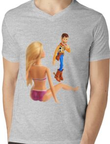 Woody sneaky peek Mens V-Neck T-Shirt
