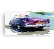 Classic Cadillac Convertable Canvas Print