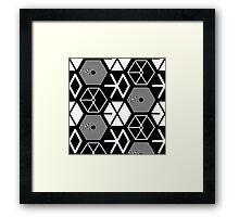 EXO Logo Pattern Framed Print