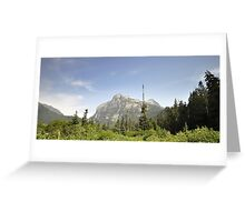 Mountain Landscape 21 Canada  Greeting Card