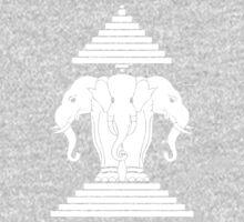 Erawan Lao / Laos Three Headed Elephant One Piece - Short Sleeve