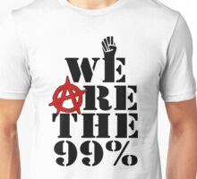 We Are The 99% Occupy Wall Street Unisex T-Shirt