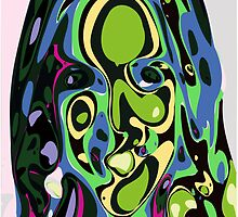 Abstract Face 4 by ChrisButler