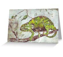 Chameleon (Chamaeleonidae) Greeting Card
