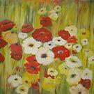 Fields of Flowers III  by Phyllis Frameli