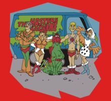 Mystery of the Universe Inc  (Scooby Doo/He-man Mash-up) by MightyRain