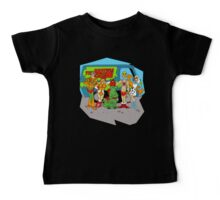 Mystery of the Universe Inc  (Scooby Doo/He-man Mash-up) Baby Tee