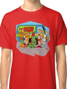 Mystery of the Universe Inc  (Scooby Doo/He-man Mash-up) Classic T-Shirt