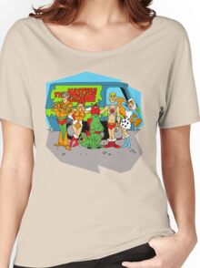 Mystery of the Universe Inc  (Scooby Doo/He-man Mash-up) Women's Relaxed Fit T-Shirt