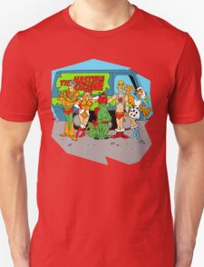 Mystery of the Universe Inc  (Scooby Doo/He-man Mash-up) T-Shirt