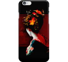 Autumn Geisha iPhone Case/Skin
