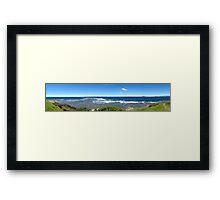 Black Head, Gerroa Panorama Framed Print
