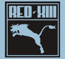 Red XIII Mash Up Kids Clothes