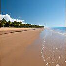 Quiet Beach, Mission Beach, FNQ by Susan Kelly