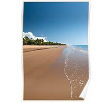 Quiet Beach, Mission Beach, FNQ Poster