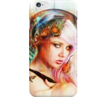 Astrid the Steampunk Navigatrix iPhone Case/Skin